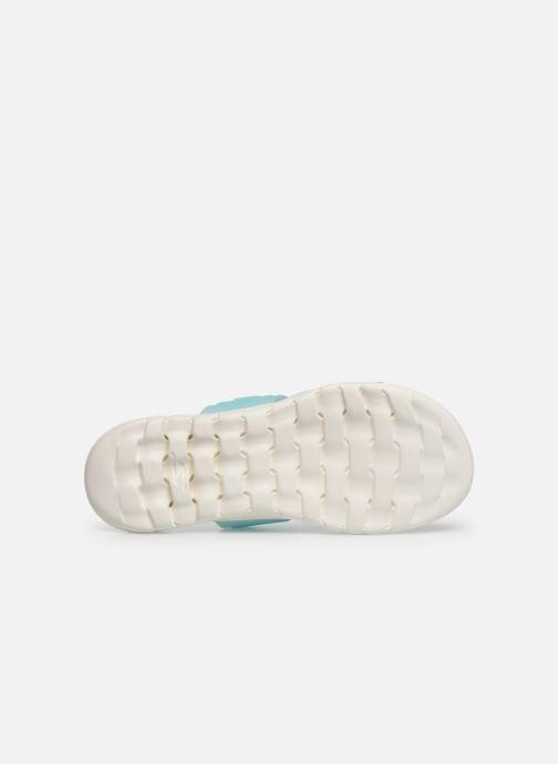 Clogs & Pantoletten Skechers Nextwave Ultra Sun-Kissed blau ansicht von oben