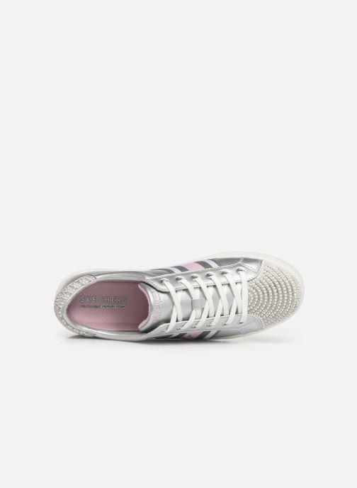 Sneaker Skechers Goldie Diamond Jubilee silber ansicht von links