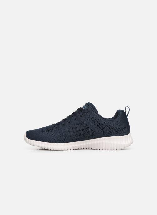 Sneakers Skechers Elite Flex Clear Blå se forfra