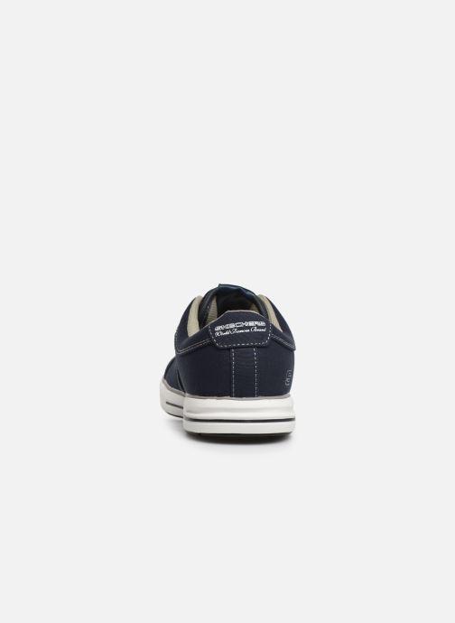 Sneaker Skechers Arcade Fulrow blau ansicht von rechts