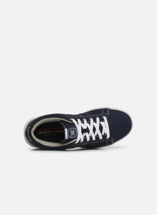 Trainers Skechers Arcade Fulrow Blue view from the left