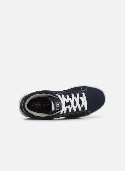 Sneaker Skechers Arcade Fulrow blau ansicht von links