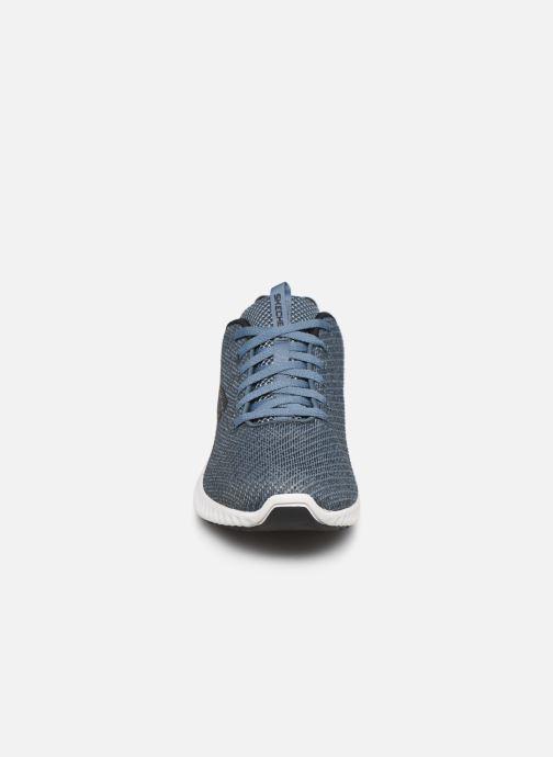 Sneaker Skechers Paxmen Wildespell blau schuhe getragen