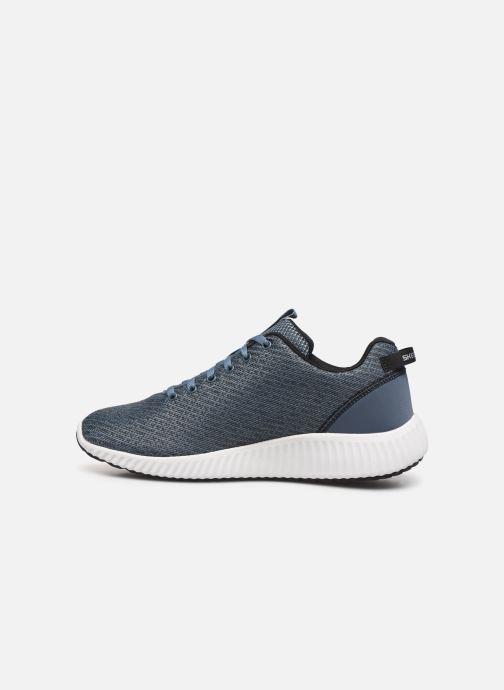 Sneaker Skechers Paxmen Wildespell blau ansicht von vorne