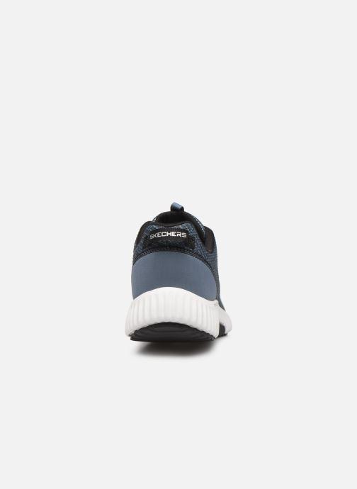 Sneaker Skechers Paxmen Wildespell blau ansicht von rechts