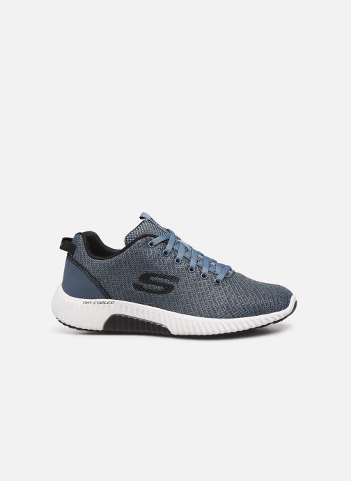 Sneaker Skechers Paxmen Wildespell blau ansicht von hinten