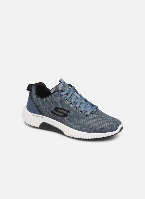 Sneakers Skechers Paxmen Wildespell Blauw detail