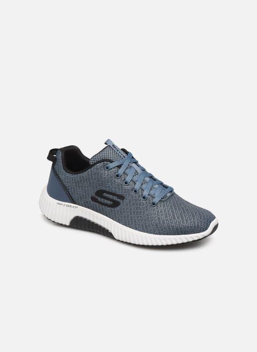 Sneakers Skechers Paxmen Wildespell Blå detaljeret billede af skoene