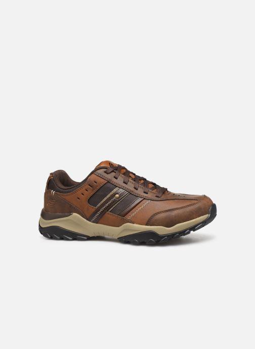 Sneakers Skechers Henrick Delwood Bruin achterkant
