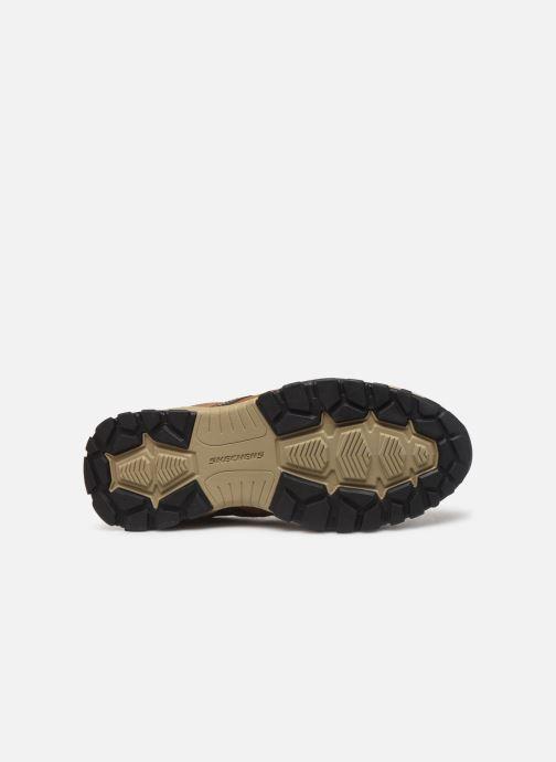 Sneakers Skechers Henrick Delwood Bruin boven
