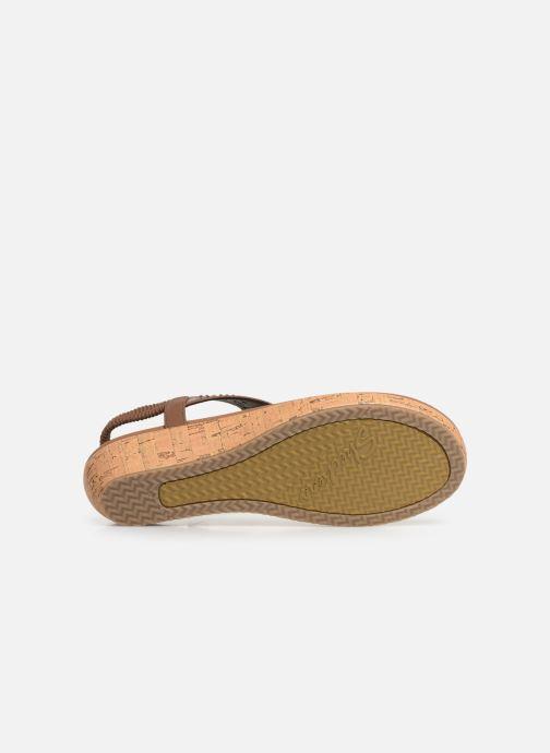 Sandalen Skechers Brie Bruin boven