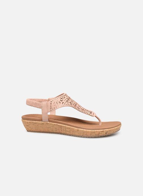 Sandales et nu-pieds Skechers Brie Rose vue derrière