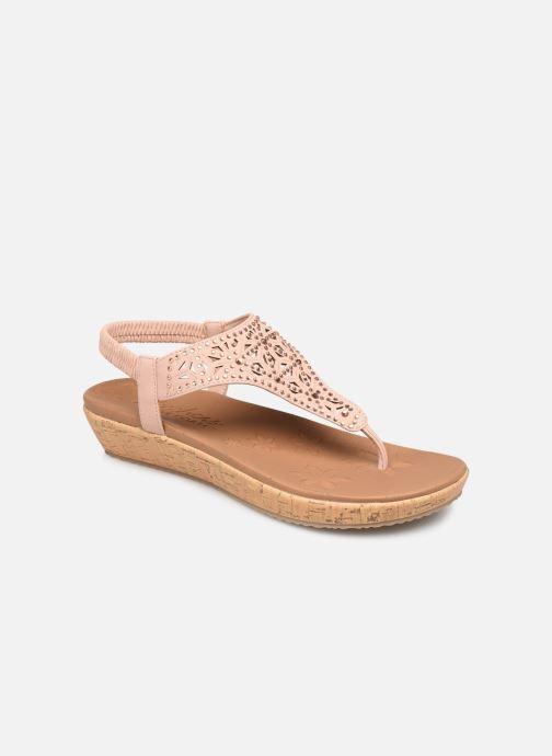 Sandales et nu-pieds Skechers Brie Rose vue détail/paire