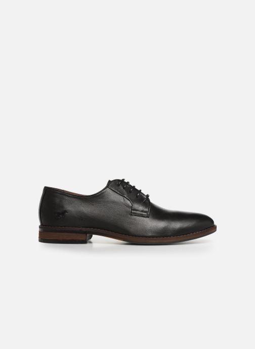 Chaussures à lacets Mustang shoes Massis Noir vue derrière