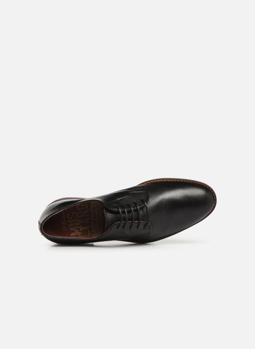 Scarpe con lacci Mustang shoes Massis Nero immagine sinistra