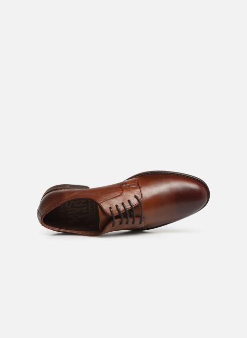 Chaussures à lacets Mustang shoes Massis Marron vue gauche