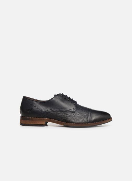 Chaussures à lacets Mustang shoes Irwan Bleu vue derrière
