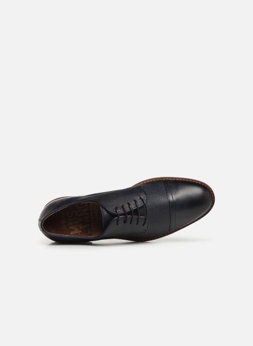Chaussures à lacets Mustang shoes Irwan Bleu vue gauche