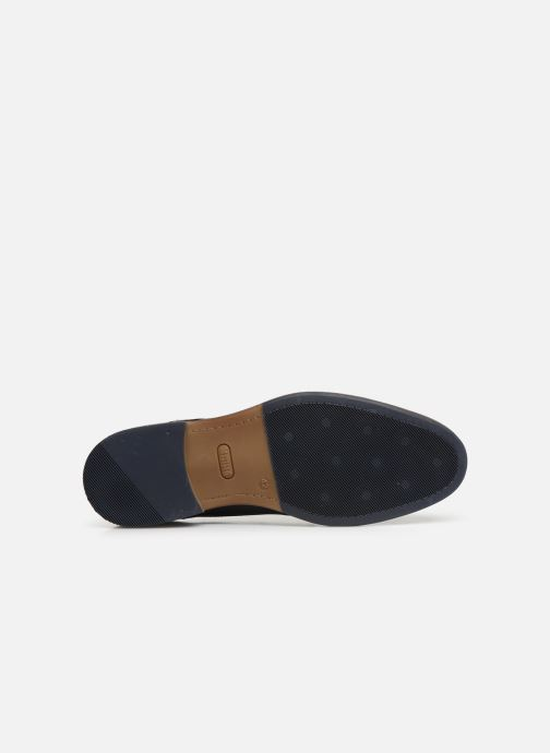 Lace-up shoes Mustang shoes Irwan Blue view from above