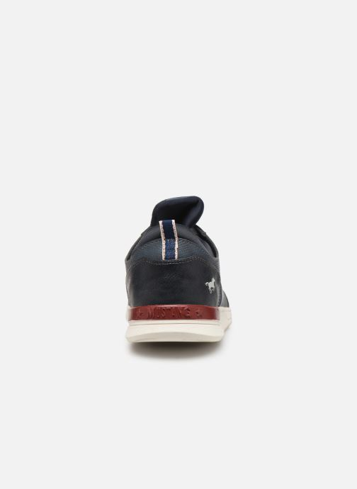 Trainers Mustang shoes Agit Blue view from the right
