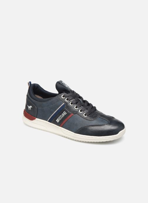 Trainers Mustang shoes Agit Blue detailed view/ Pair view