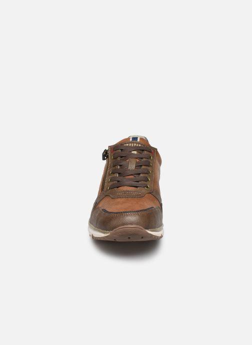 Baskets Mustang shoes Doro Marron vue portées chaussures