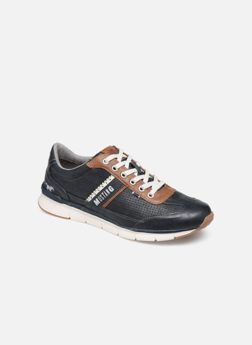 Sneakers Mustang shoes Naym Azzurro vedi dettaglio/paio