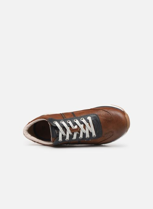 Sneaker Mustang shoes Naym braun ansicht von links