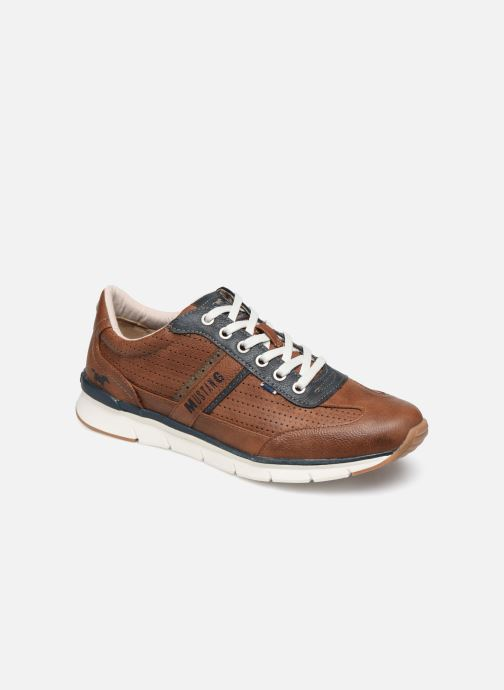 Baskets Mustang shoes Naym Marron vue détail/paire