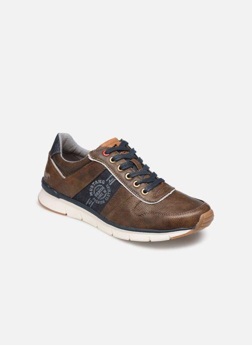 Sneakers Mustang shoes Noha Marrone vedi dettaglio/paio