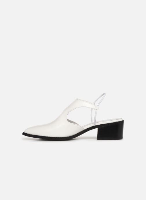Sandales et nu-pieds E8 by Miista TYRA Blanc vue face