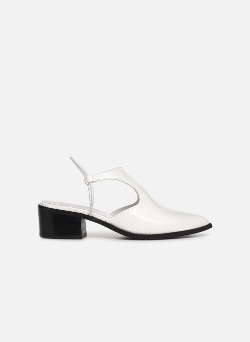 Sandales et nu-pieds E8 by Miista TYRA Blanc vue derrière