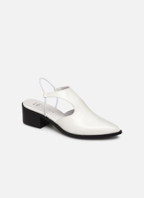 Sandales et nu-pieds E8 by Miista TYRA Blanc vue détail/paire