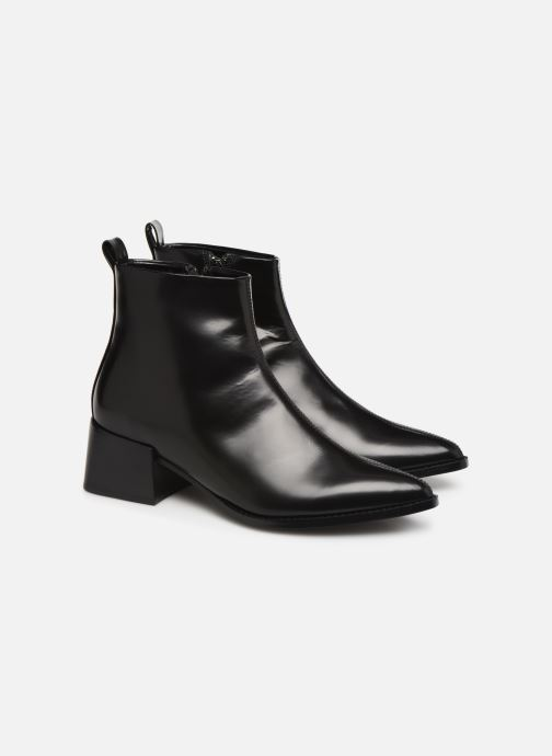 Ankle boots E8 by Miista ELIN Black 3/4 view
