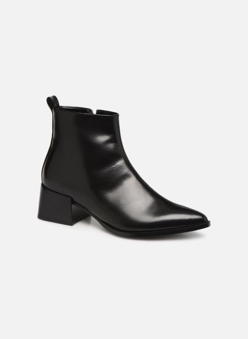 Ankle boots E8 by Miista ELIN Black detailed view/ Pair view