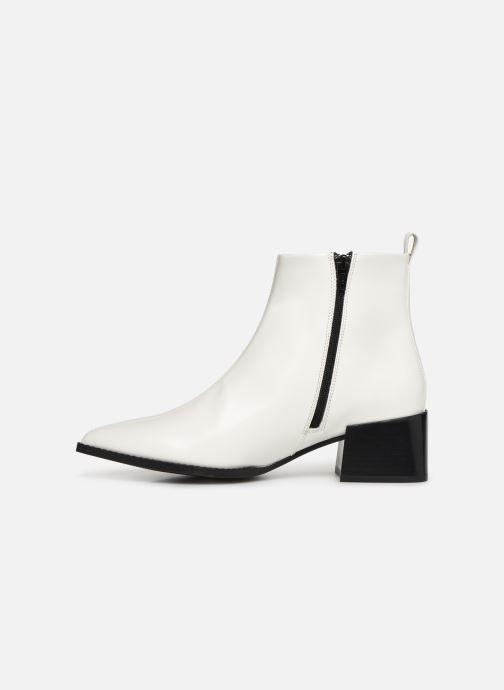 Bottines et boots E8 by Miista ELIN Blanc vue face