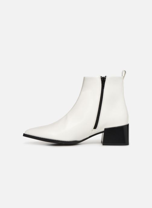 Ankle boots E8 by Miista ELIN White front view