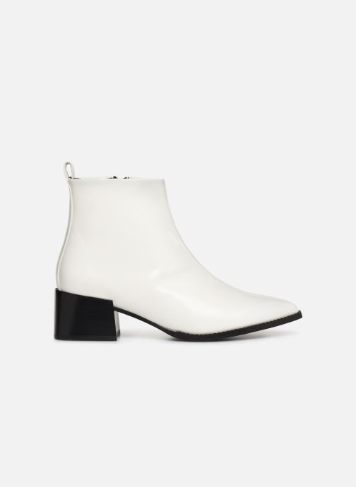 Ankle boots E8 by Miista ELIN White back view
