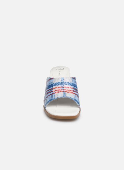 Mules et sabots E8 by Miista RITA Bleu vue portées chaussures