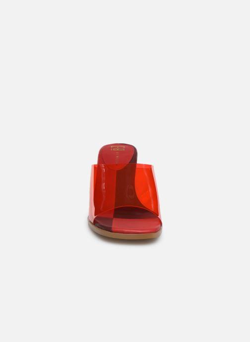 Mules et sabots E8 by Miista RITA Rouge vue portées chaussures
