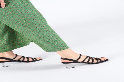 Sandali e scarpe aperte E8 by Miista CLARISA Nero immagine dal basso