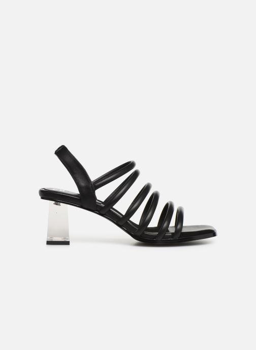 Sandalen E8 by Miista CLARISA Zwart achterkant