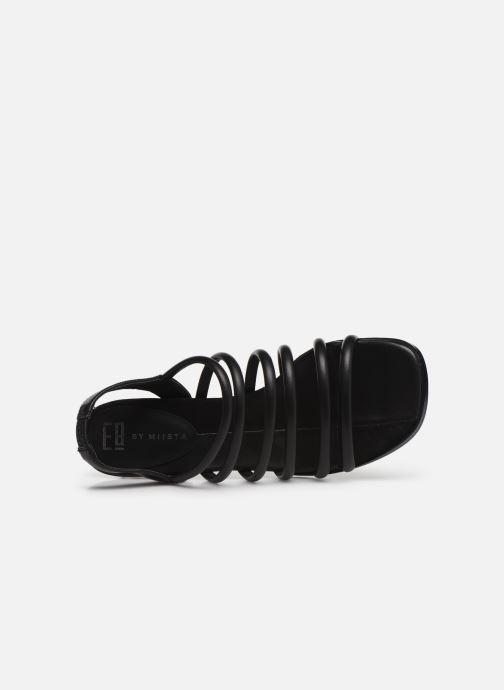 Sandali e scarpe aperte E8 by Miista CLARISA Nero immagine sinistra