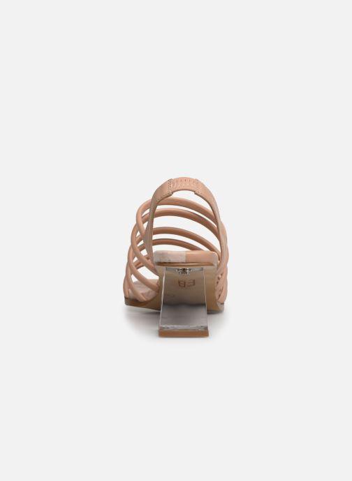 Sandales et nu-pieds E8 by Miista CLARISA Beige vue droite