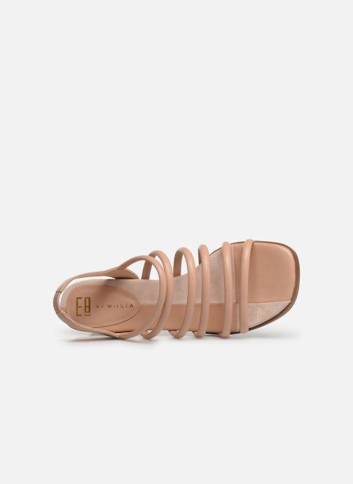 Sandales et nu-pieds E8 by Miista CLARISA Beige vue gauche
