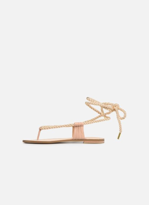 Sandals E8 by Miista ISIDORA Bronze and Gold front view