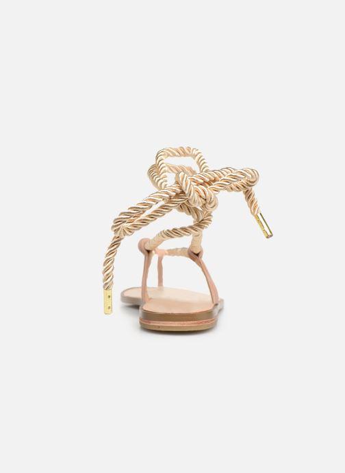 Sandali e scarpe aperte E8 by Miista ISIDORA Oro e bronzo immagine destra