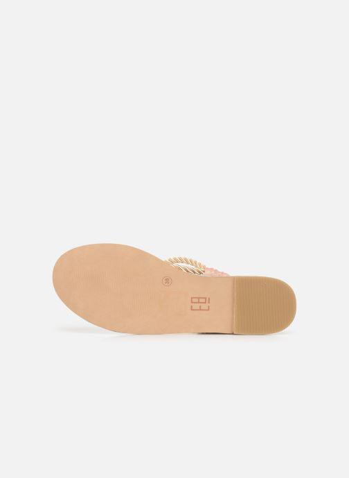 Sandali e scarpe aperte E8 by Miista ISIDORA Oro e bronzo immagine dall'alto