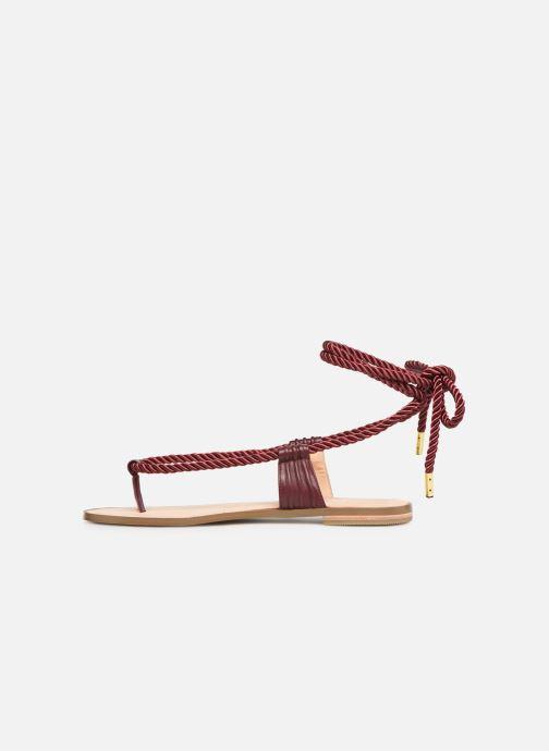 Sandales et nu-pieds E8 by Miista ISIDORA Bordeaux vue face