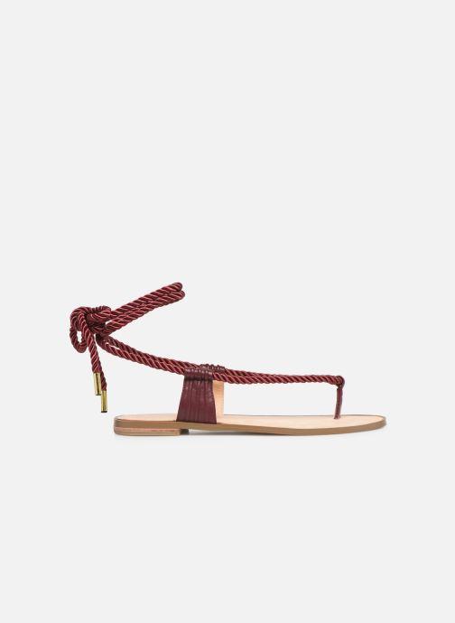Sandales et nu-pieds E8 by Miista ISIDORA Bordeaux vue derrière